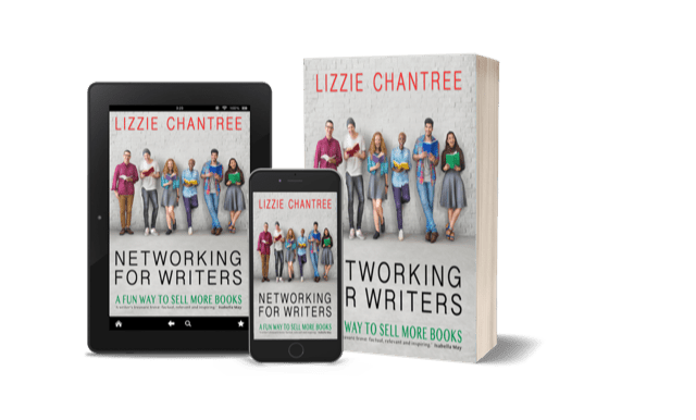 Networking for Writers by Lizzie Chantree #non-fiction #networking #book #writers #forthcoming #release