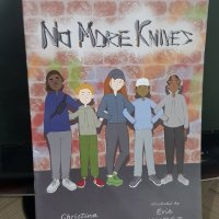Children in Read Auction - No More Knives by Christina Gabbitas #childreninread #childreninneed #children #education #nomoreknives
