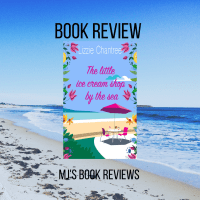 Book Review The Little Ice Cream Shop By The Sea by Lizzie Chantree #book #review #romance