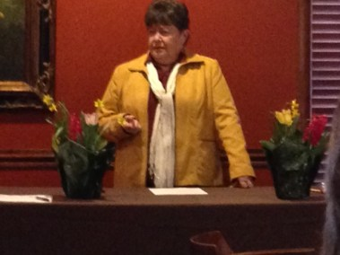 Speaking at Shelbyville Country Club
