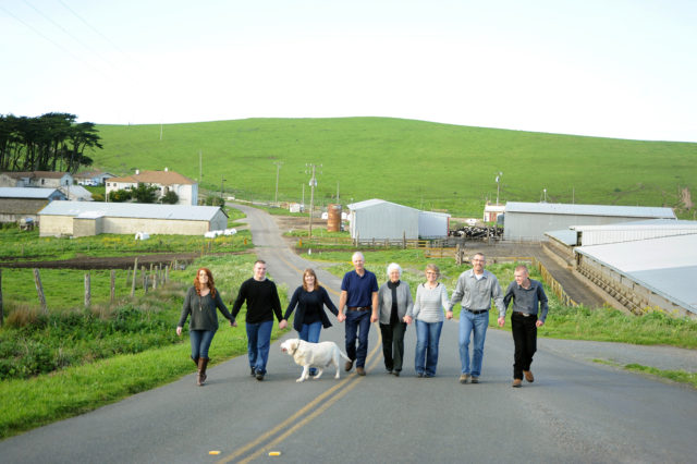 Point Reyes family dairy