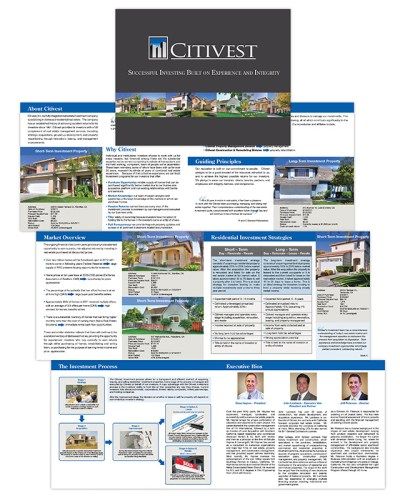 Brochure   Citivest Capital Investments
