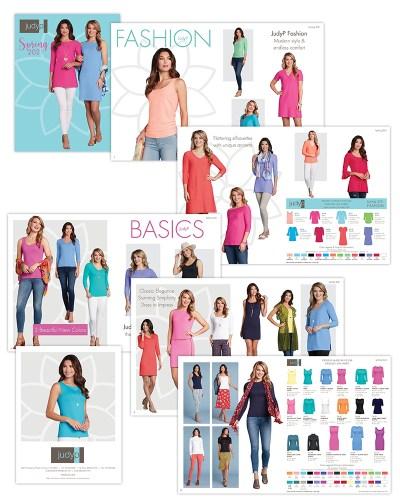 Catalog   JudyP Apparel Spring 2021 Lookbook MJ OBrien Design