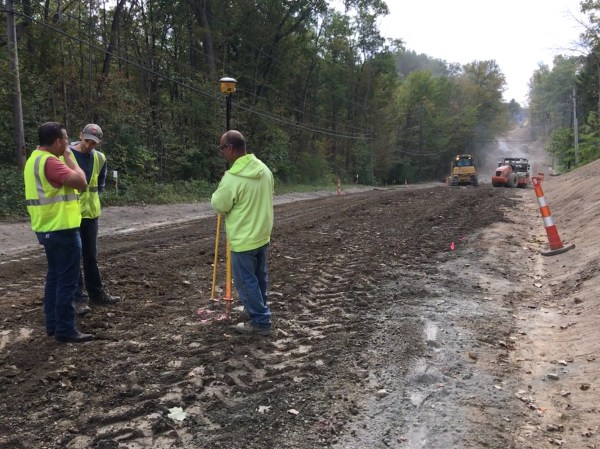 Geauga County Engineer's Office road reconstruction ...