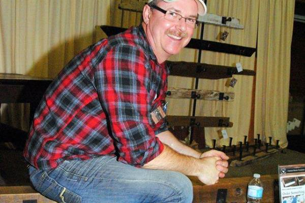 Matt at the March Madness Craft Show