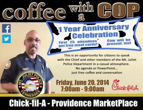 CoffeeWithACopPowerPointChickfila1Year