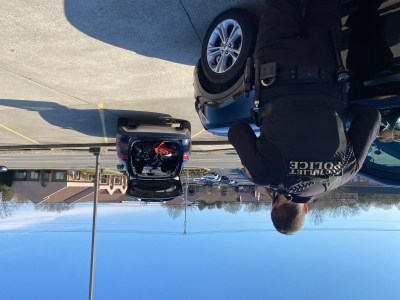 Scene of Officer & Stopped Vehicle