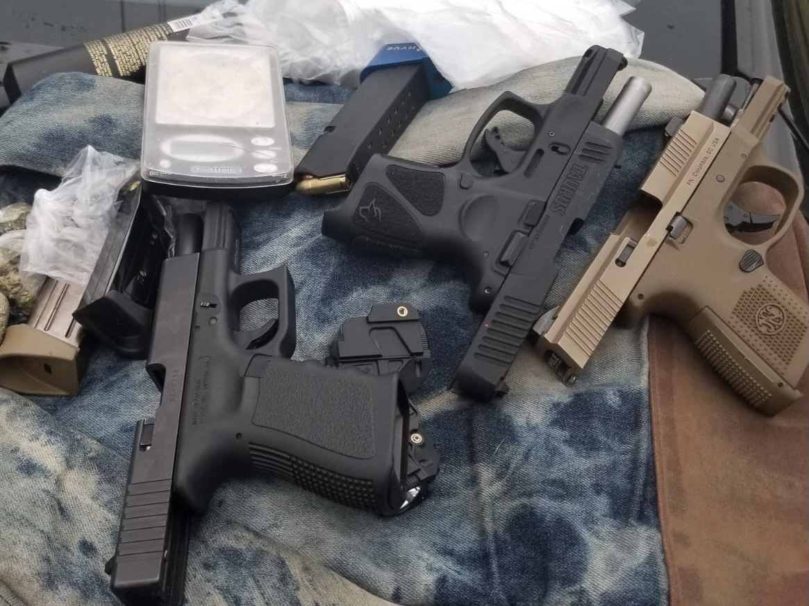 Photo of 3 Handguns