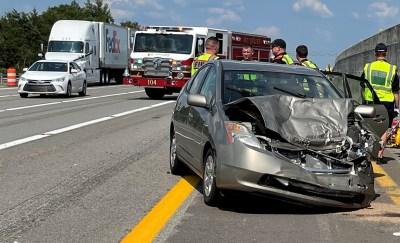 Toyota Prius After Crash