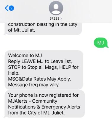 MJAlert Text Sign-Up Graphic