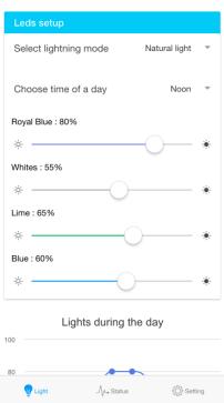 IOs app channnel controls