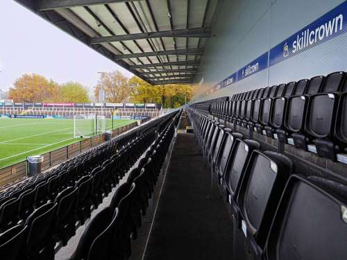 commercial building big stadium of football in Bromley