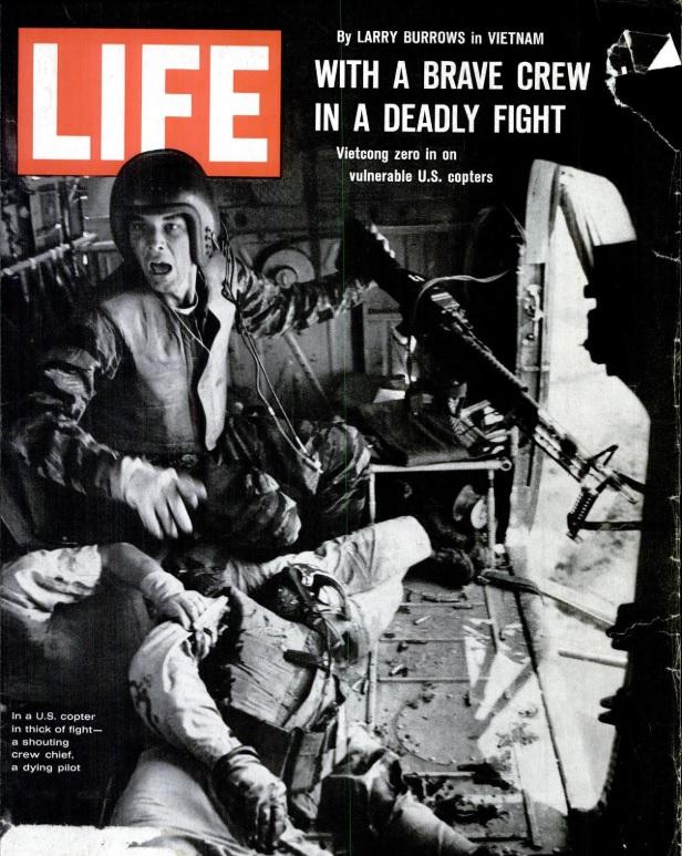 Life, 16 April 1965, cover artwork