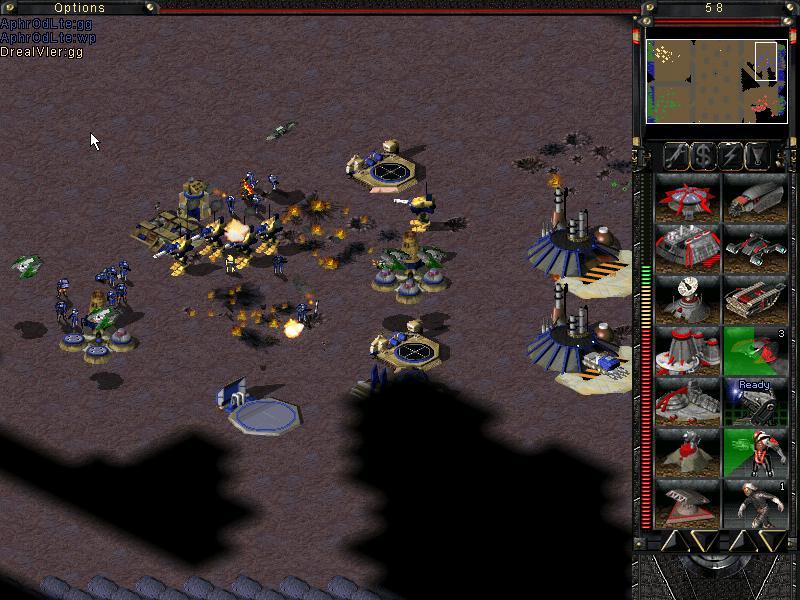 Tiberian Sun Mole40k and Drealvler win vs Aphrodlte and partner, bbg