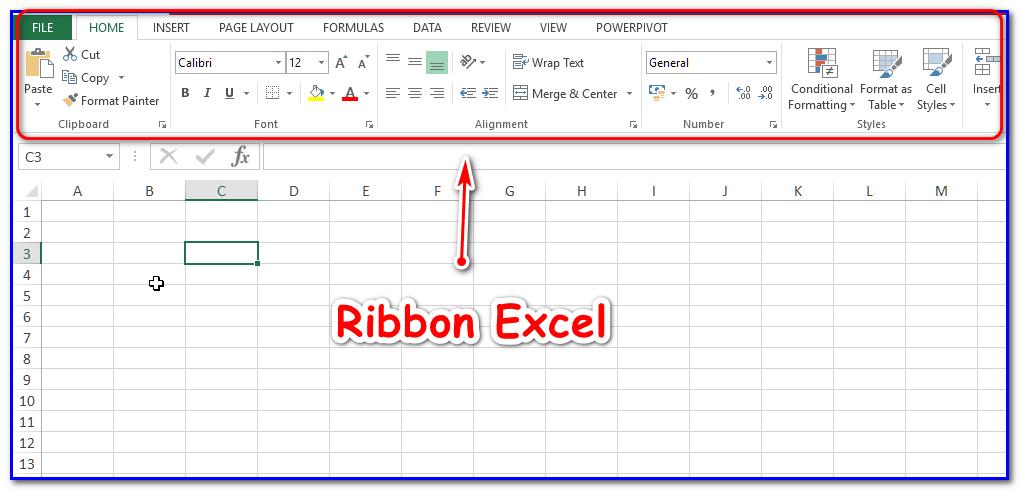 Ribbon Excel, Mengenal, Menyembunyikan, dan Membuat Custom Ribbon dan Tabs Excel