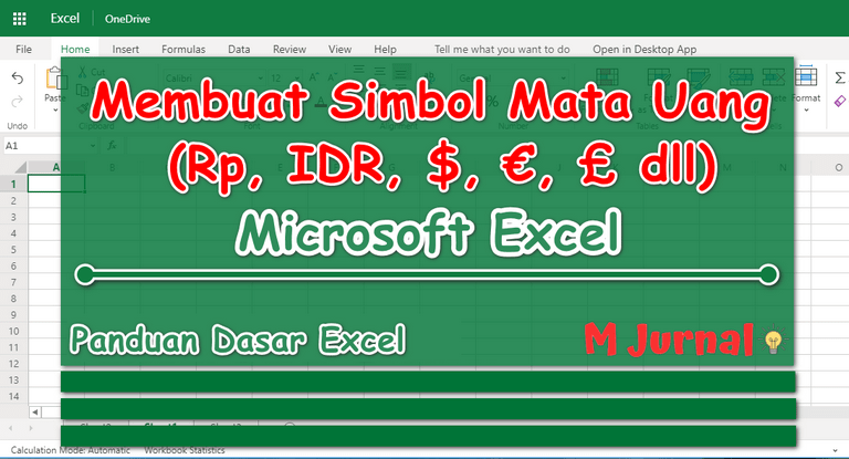 Currency VS Accounting: Format Mata Uang Excel