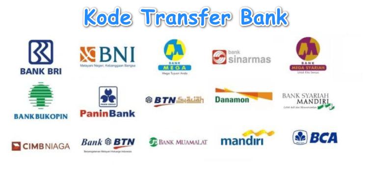 Daftar Kode Transfer Semua Bank di Indonesia