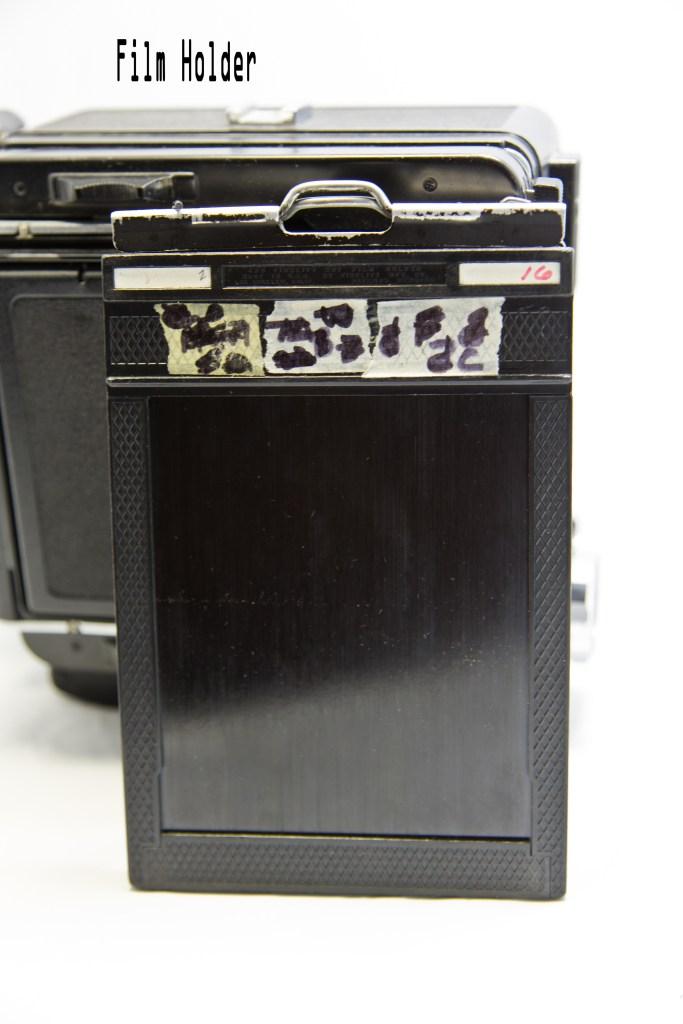Large Format Camera Film Holder