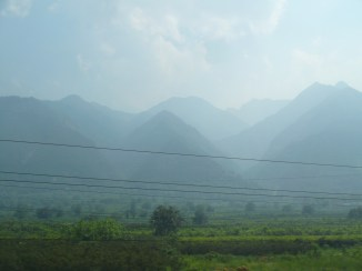 Mountains in the distance, so beautiful