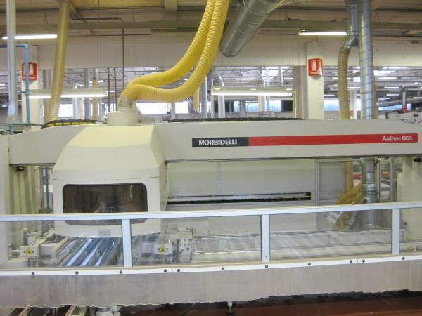 Author 660 Boring Machine by MORBIDELLI (SCM Group)
