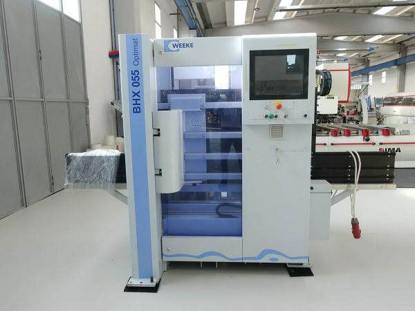 BHX 055 CNC Machine by WEEKE (HOMAG Group)
