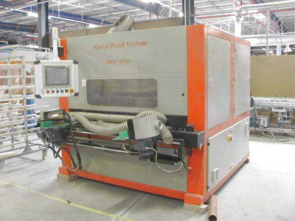 PRO-1400 Sanding Machine by QUICKWOOD