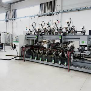 Techno FDT CN + Techno SDT CN Boring Machine by BIESSE