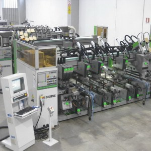 Techno FDT CN + Techno SDT CN Boring Machine by BIESSE (BIESSE Group)