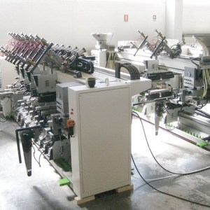 Techno Logic CN + Techno Infor Logic CN Boring Machine by BIESSE