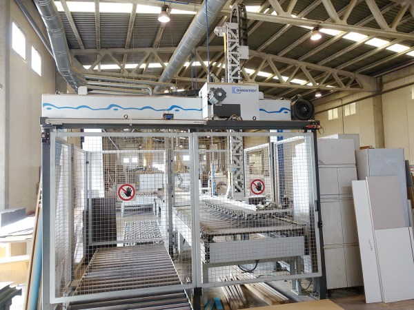 TSP 410/EL/25/12 Stacker, Miscellaneous by BARGSTEDT (HOMAG Group)