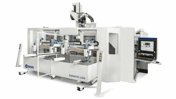 SCM balestrini cube CNC Machine