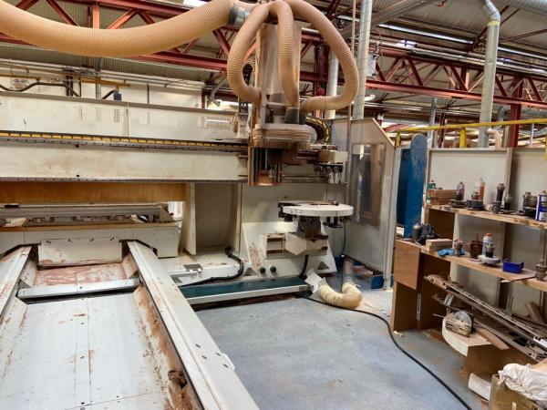 SCM Twin Table Ergon CNC Joinery Machine