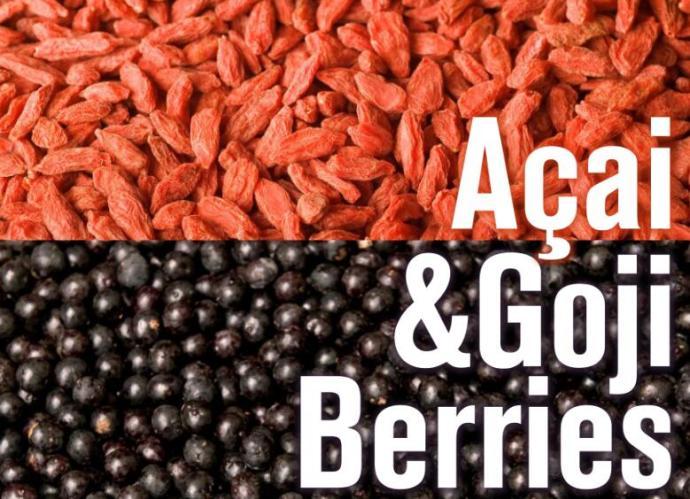 Acai vs. Goji berries?