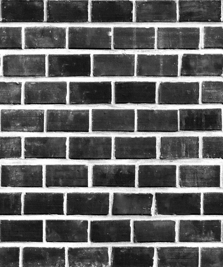 Lubeck Bricks Wallpaper Exposed Black Bricks Milton King