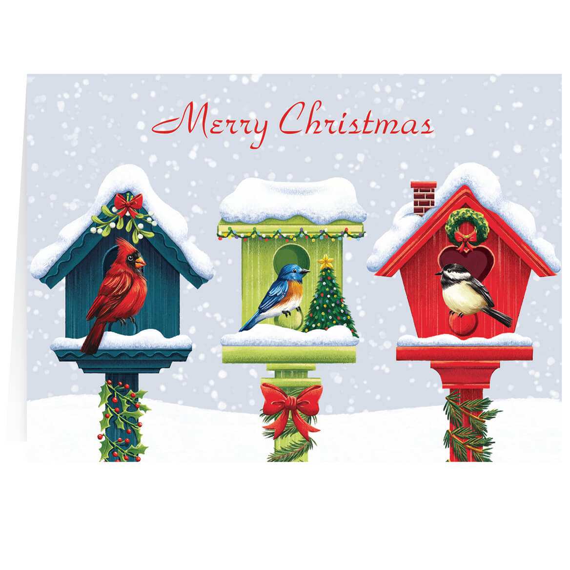 Festive Friends Personalized Christmas Cards Miles Kimball