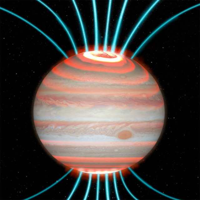 Jupiter's high temperature traced to planet's powerful auroras – Astronomy  Now