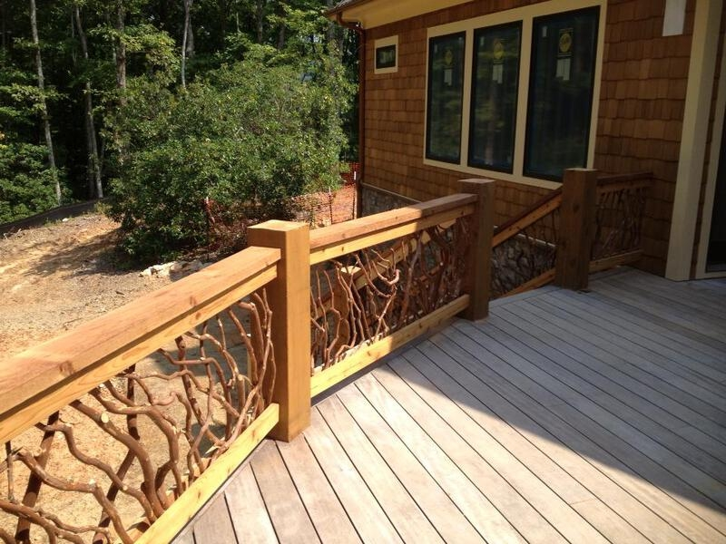 Rustic Handrails For The Home Options And Materials For Railings | Rustic Banisters And Railings | House | Pallet | Veranda | Farmhouse | Solid Wood