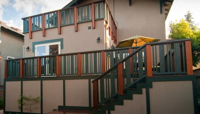 100S Of Deck Railing Ideas And Designs | Black Iron Pipe Handrail | Cast Iron | Horizontal Pipe | Paint Pipe | Stair Outdoor Decatur | Railing Aluminium Pipe