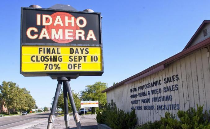 After 74 years, Idaho Camera will close its doors for the last time this week