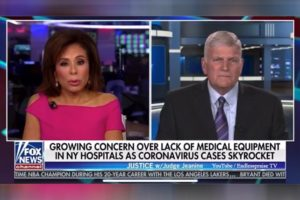 Franklin Graham: Pandemic Is a Result of a Fallen World