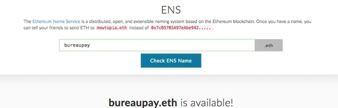 Domain available .eth