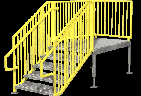 Portable Stairs Prefab Ibc Osha Options In Stock Erectastep | Portable Stairs With Handrail | Chair | Plastic Portable | Camper | Wall Mounted | Ladder