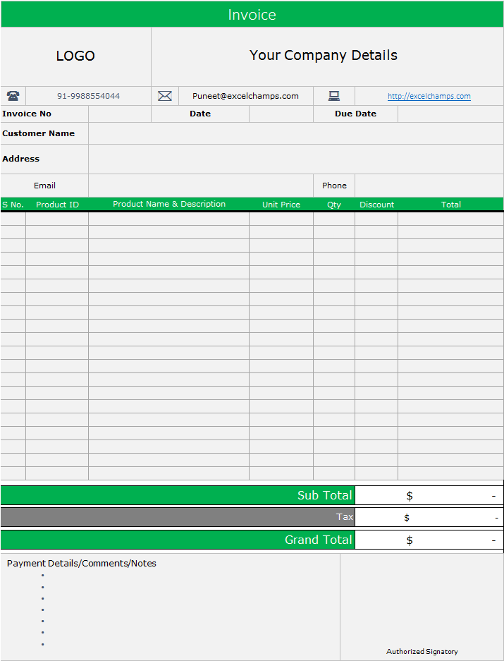 Use it to track personal, home, equipment, product, and asset inventories with ease. Ready To Use Excel Inventory Management Template Free Download