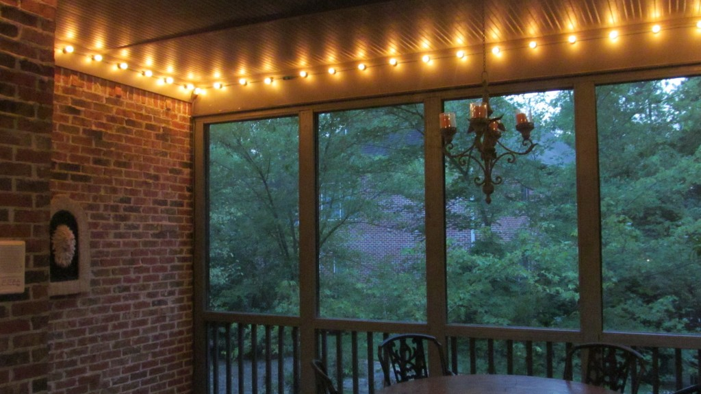 screened porch makeover for less than