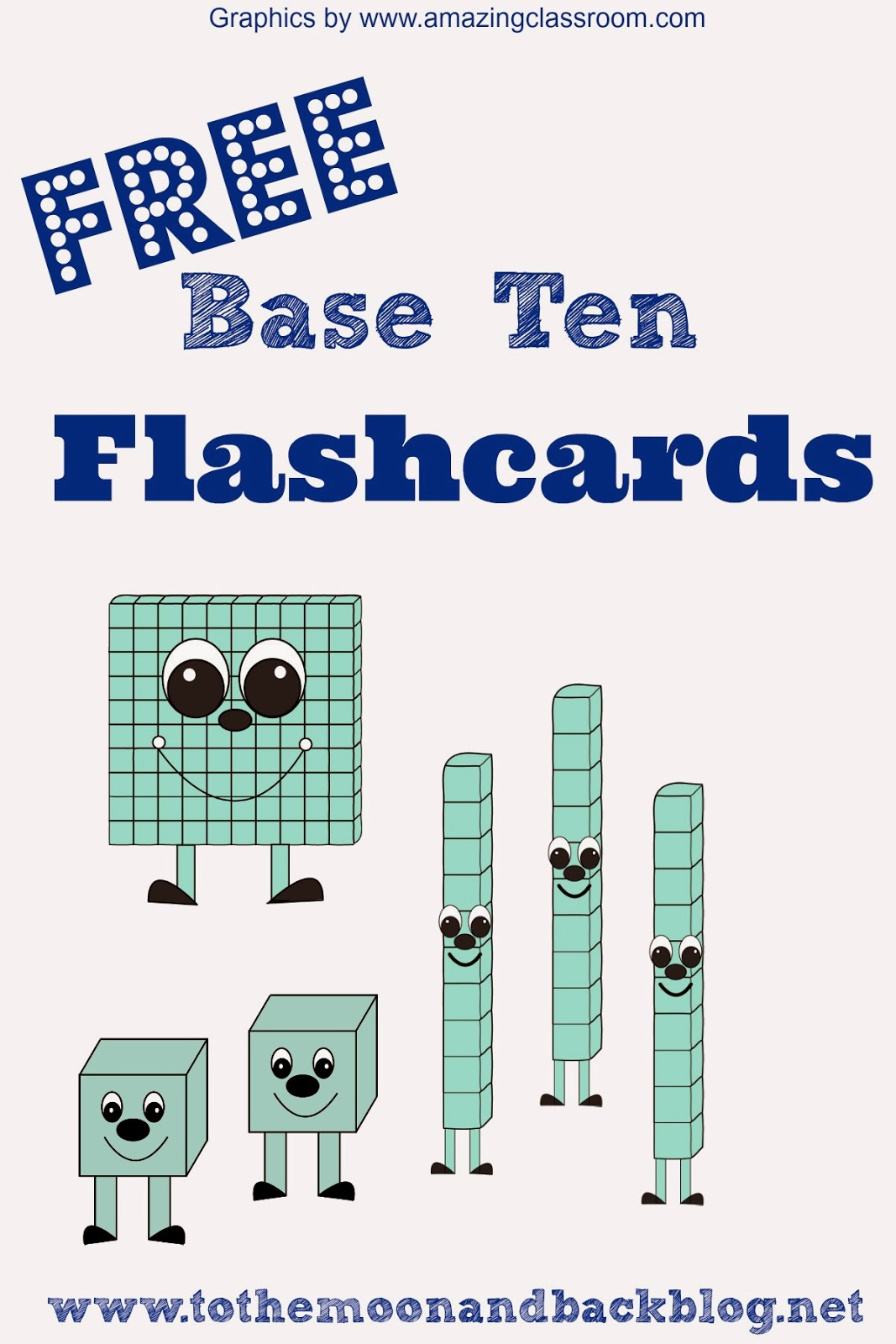 Math Freebies Printable Base Ten Math Practice Flash