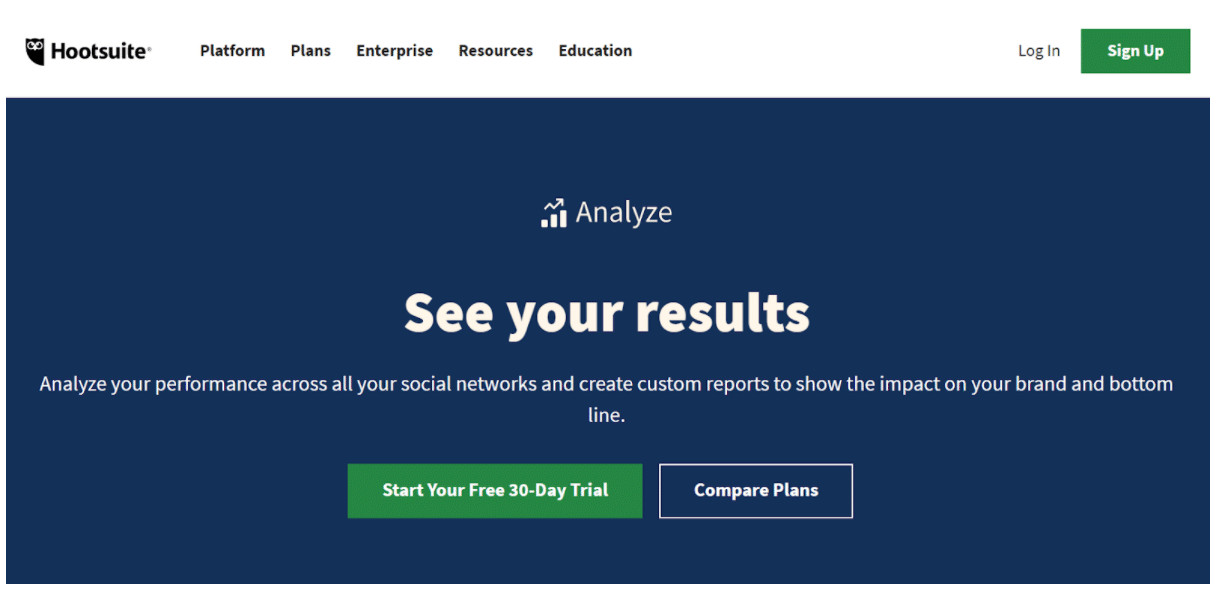 Analyse Hootsuite