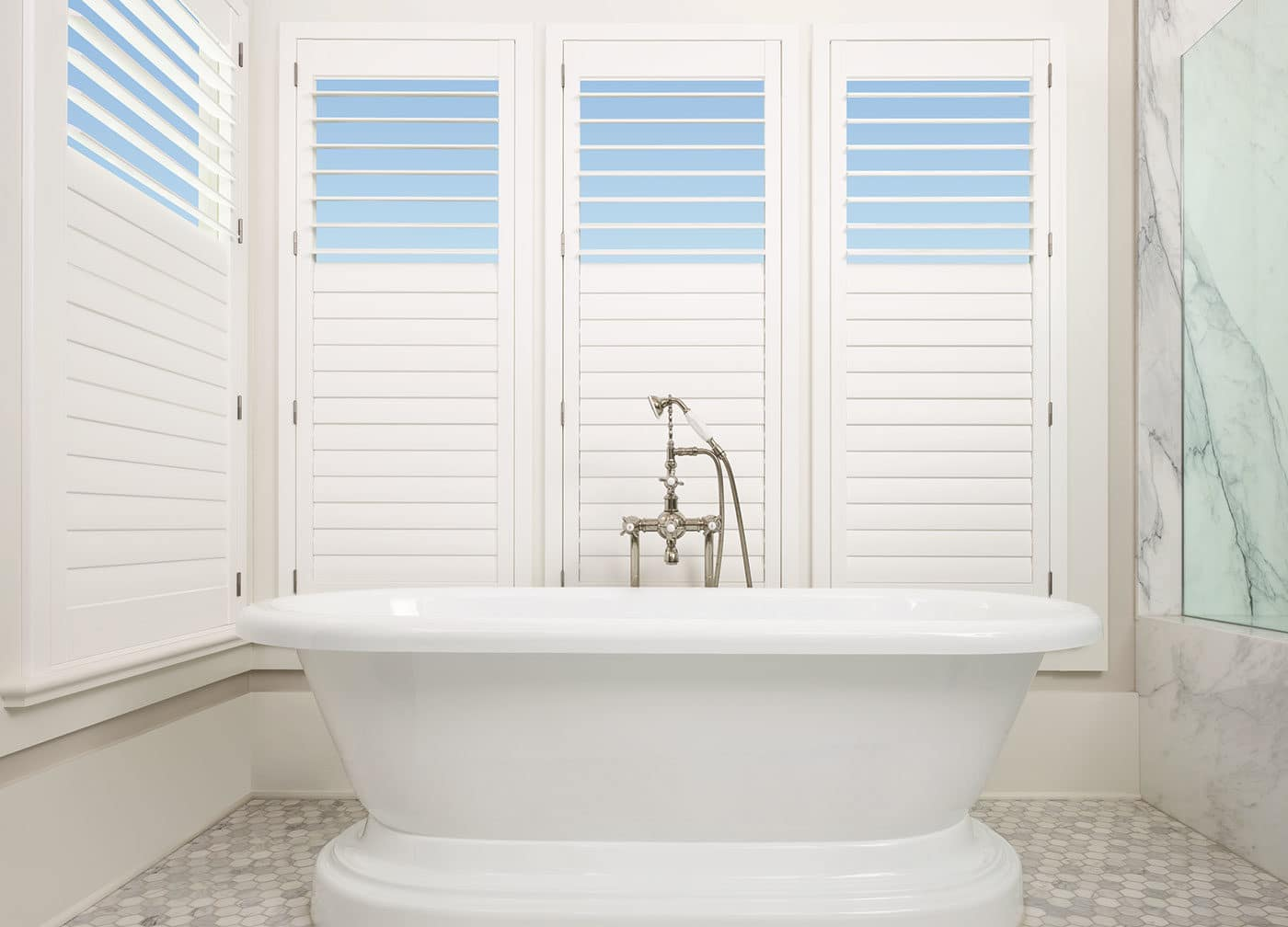 Custom Hunter Douglas Palm Beach Shutters Near Chicago Il