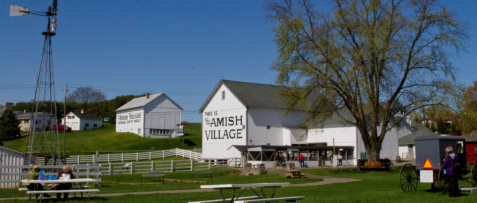 Amish Village In Strasburg PA