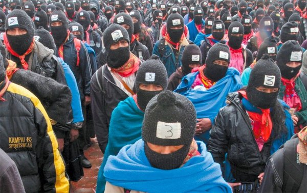 Zapatistas are back and preparing to confront AMLO over ...