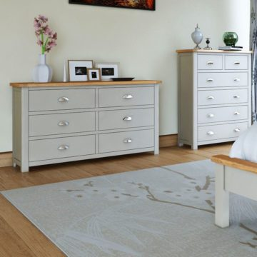 oak bedroom furniture painted or
